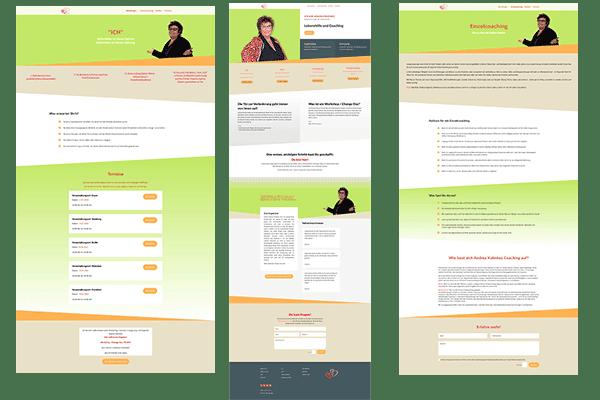 Landing Page erstellen Linda Jo Rizzo