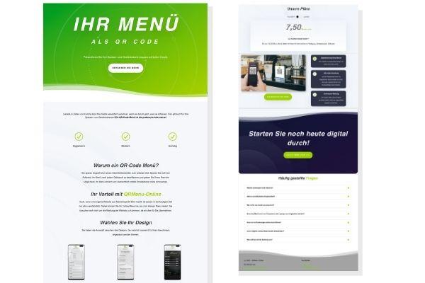 QR Menü online